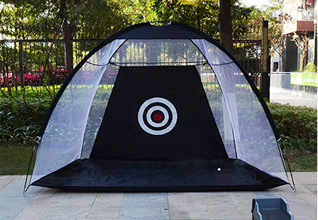 Backyard swing hitting target training driving chipping practice golf net