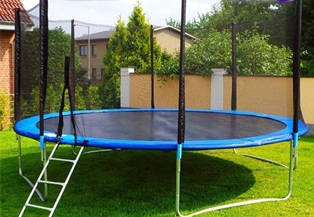 Commercial Small Outdoor  Round Trampoline